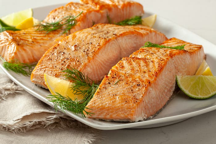 Wild King Salmon 2 x 8 Oz. Portions - Frozen
