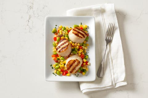 Sea Scallops U10 12 Oz. - Fresh